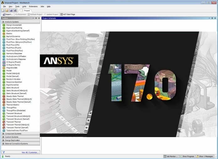 dvd ANSYS Products 17.0 Tutorials