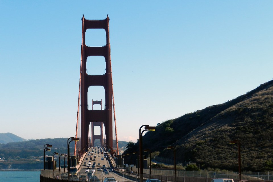 Puente Golden Gate vista desde el norte San Francisco California EE UU 06