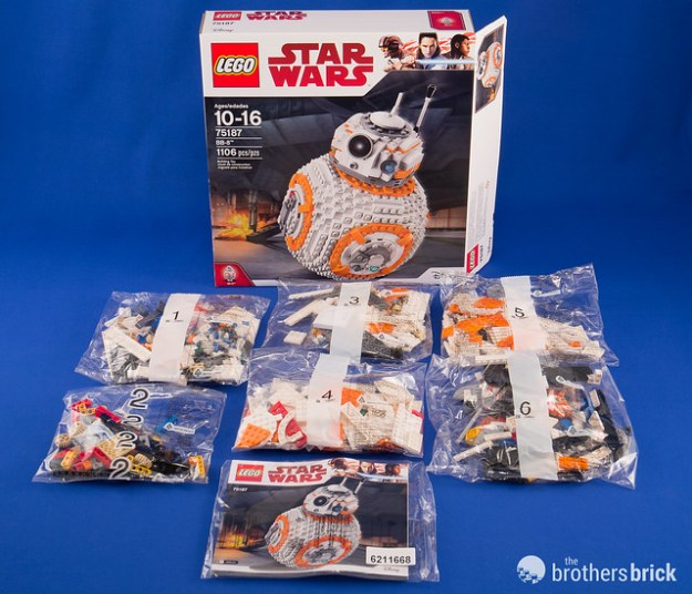 Lego Star Wars 75187 Bb 8 Review The Brothers Brick The