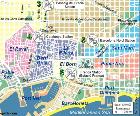 17h18 Mapa Barcelona turística Uti 485