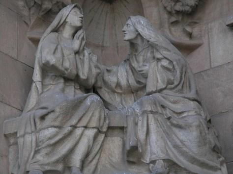 Barcelona Sagrada Familia facade detail3