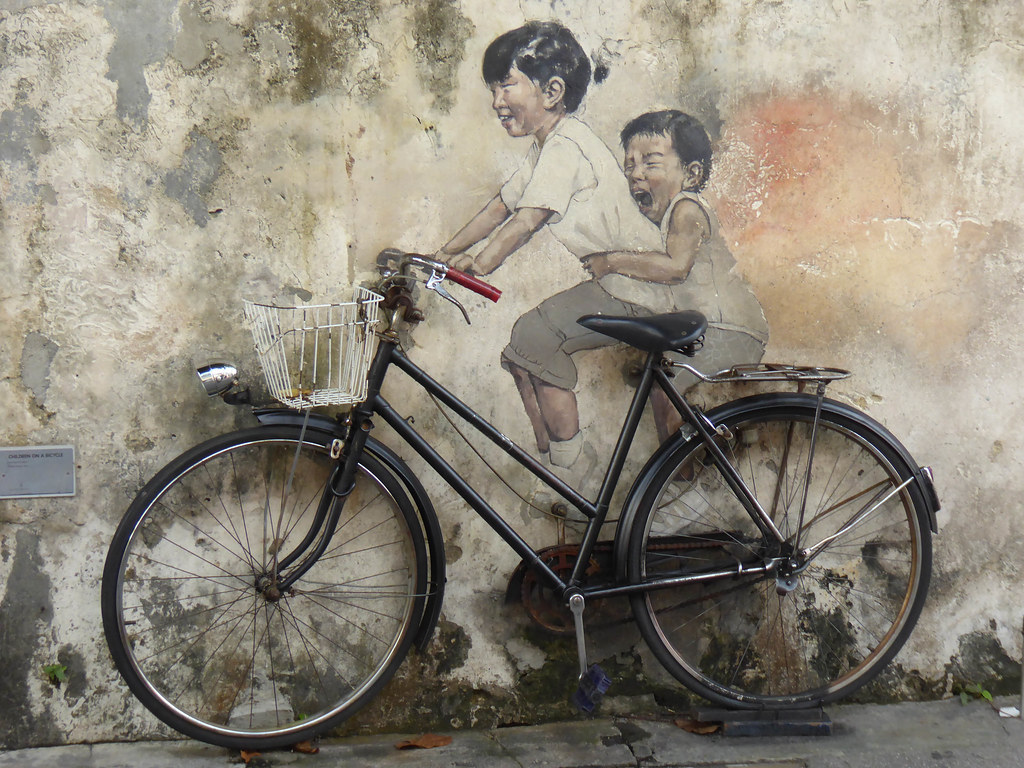 Street Art, George Town, Malaysia, things to do in georgetown