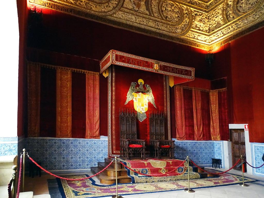 Salon del Trono Alcazar de Segovia 01