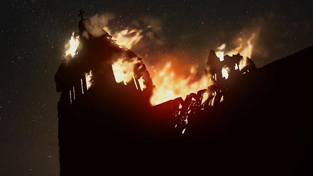 Ken Follettov stupovi na Zemlji - Burning Cathedral