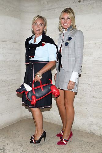 Sharon Jacob and Kathy Prounis