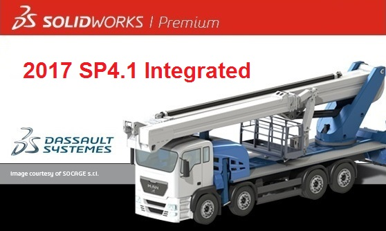 SolidWorks 2017 SP4.1 Full Premium license