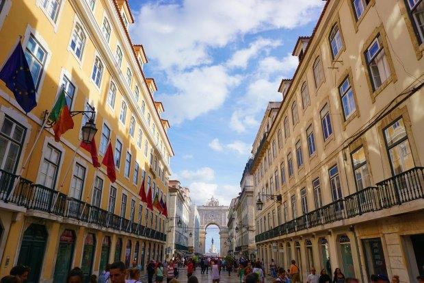 Rua Augusta in Lisbon