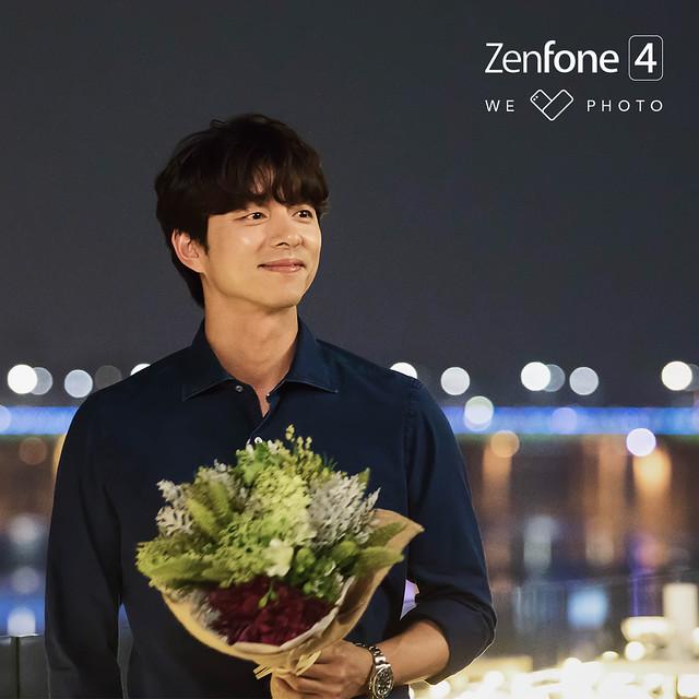 Gong Yoo for ASUS Zenfone 4