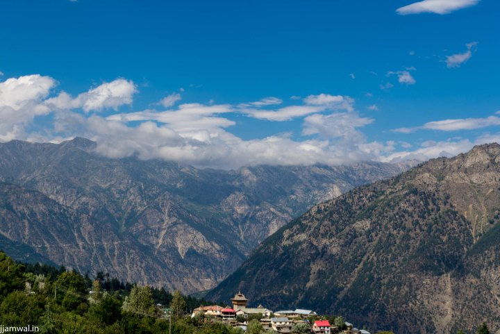 View of Kalpa village