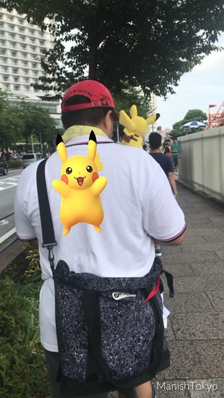 Pikachu Outbreak Festival 2017 Pokemon Go
