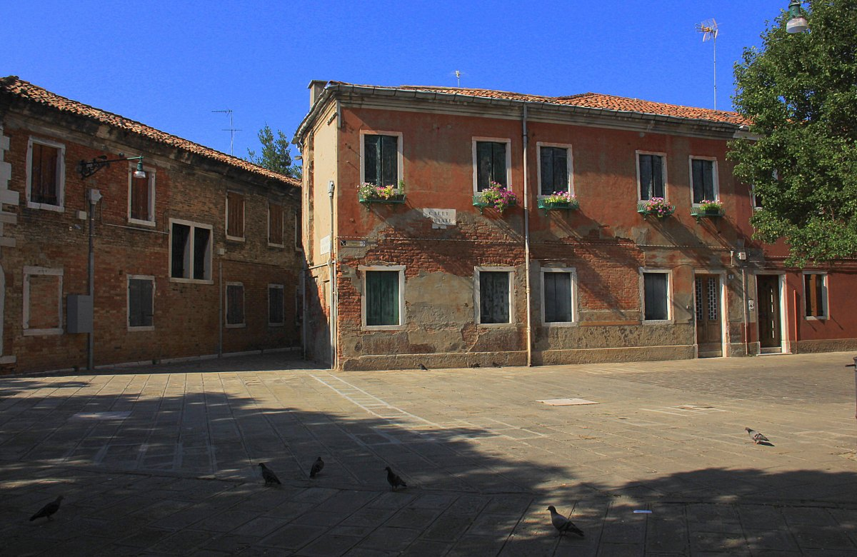 A little square in Murano