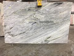 Calacata Cielo 3cm marble slabs for countertops