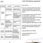 RC Moment JJRC H47 ドローン マニュアル (14)
