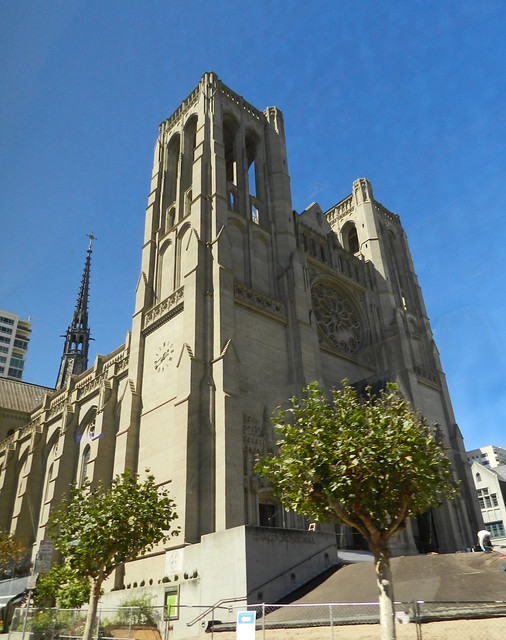 Catedral Grace fachada exterior San Francisco California EEUU