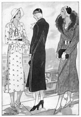 Summer fashion, Husmodern nr 29 1931