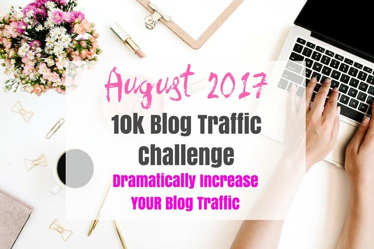 August 10k Blog Traffic Challenge
