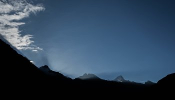 Sunrise in Chitkul
