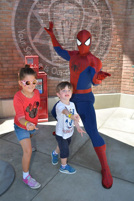 Meeting Spider Man