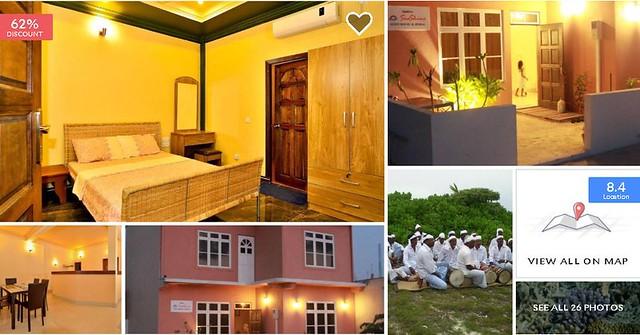 SeaShine Maldives Guest House - Maldives Cheap Accommodation