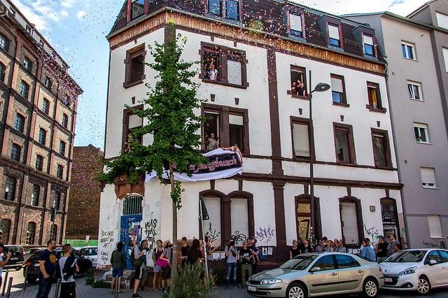Protest gegen Gentrifizierung: Hausbesetzung im Jungbusch