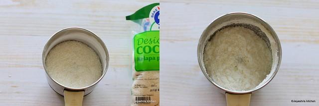badam coconut ladoo