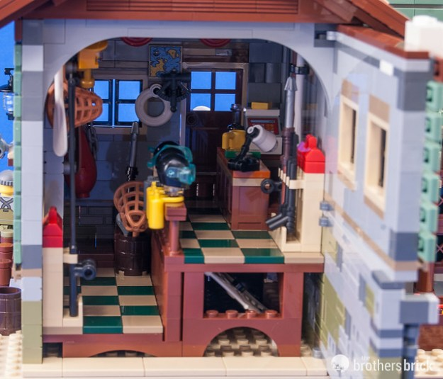 LEGO Ideas 21310 Old Fishing Store [Review] | The Brothers Brick ...