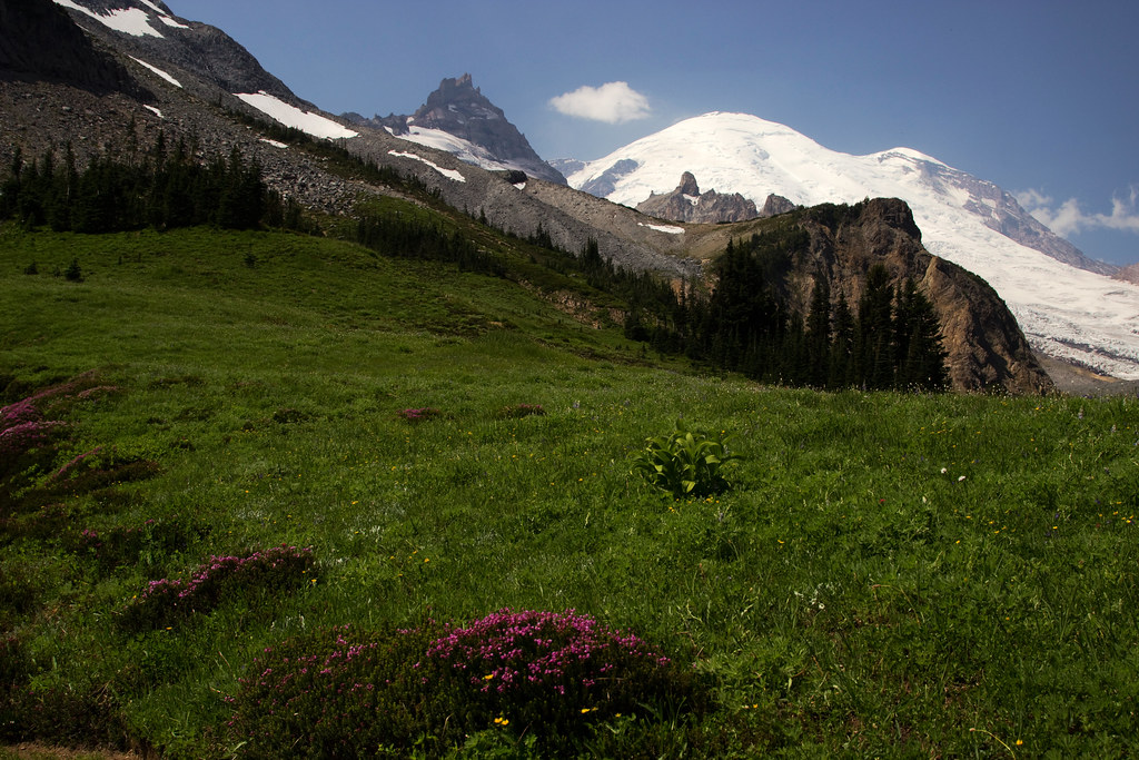 Mount Rainier NP's Summerland - Panhandle Gap Trail