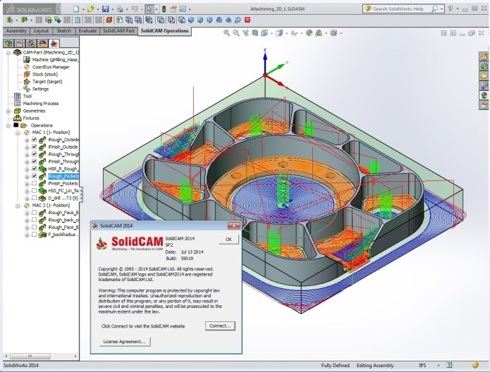 Gia công với SolidCAM 2014 SP2 full