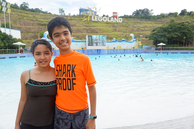 Legoland Water Park Wave Pool