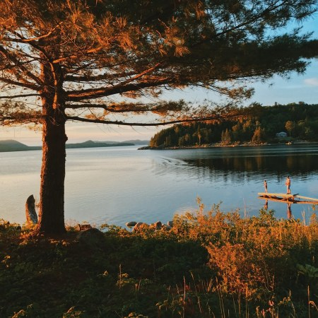 Fishing on Lake Utopia