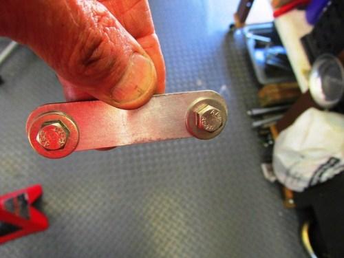 Rear Fender Bracket Detail