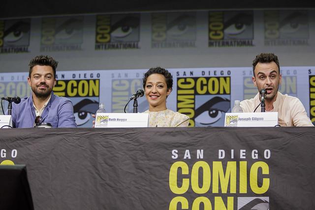 Dominic Cooper, Ruth Negga and Joseph Gilgun