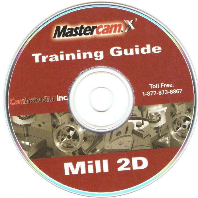 CD đào tạo lập trình gia công phay trên mastercam X3