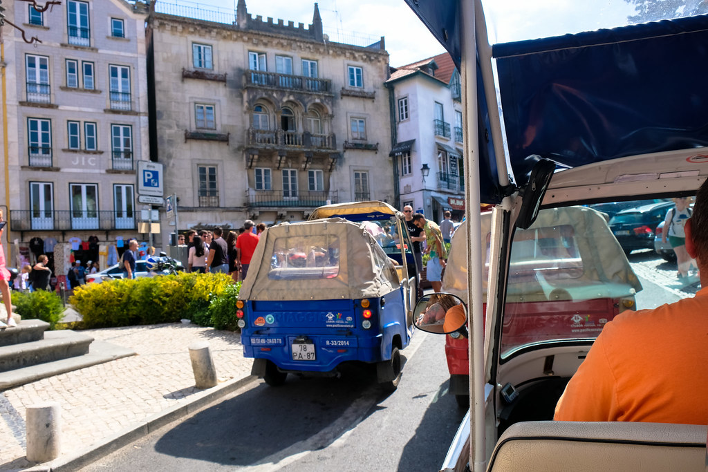 Tuk Tuk ride in Sintra