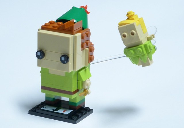 Brickheadz - Pan and Tink