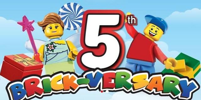 Legoland 5th Brickversary