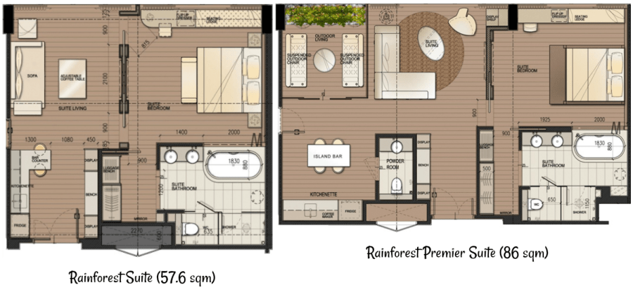 D'Resort Rainforest Suite