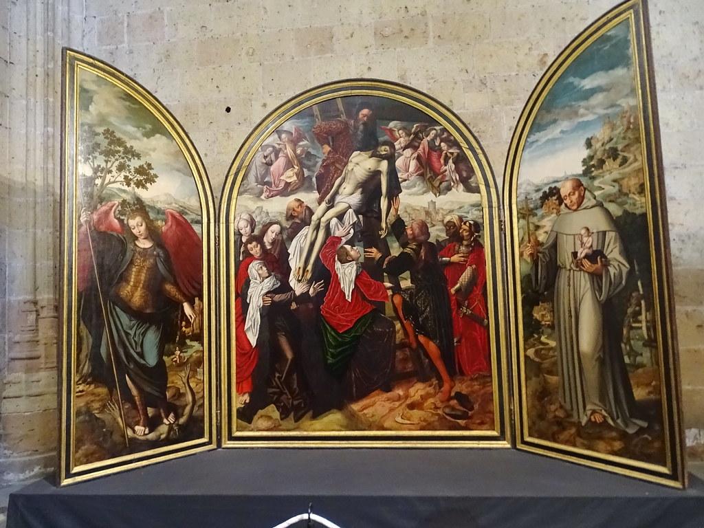 Segovia Capilla de San Andrés Catedral de Nuestra Señora de la Asunción y de San Frutos 01