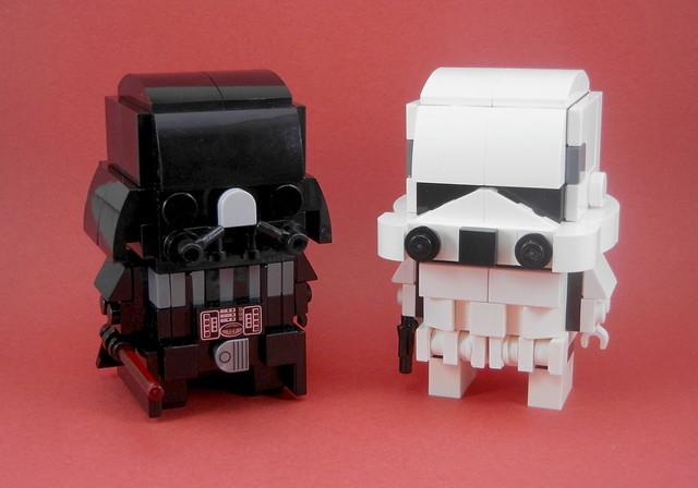 Darth Vader & Stormtrooper