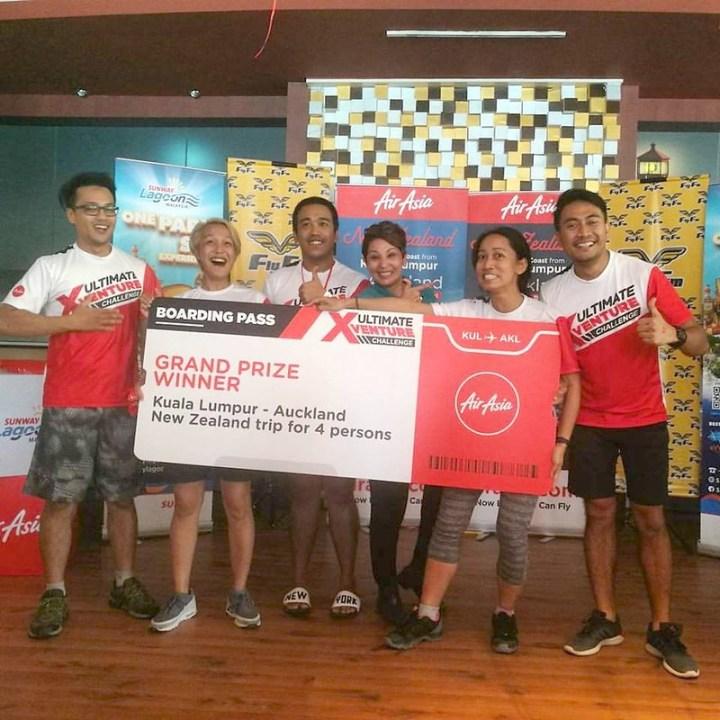 Creative Director & Travel Buddies Win Airasia X Ultimate Xventure Contest