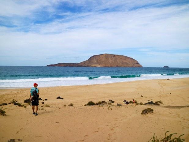 Playa La Concha, La Graciosa