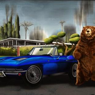 Bear and Corvette