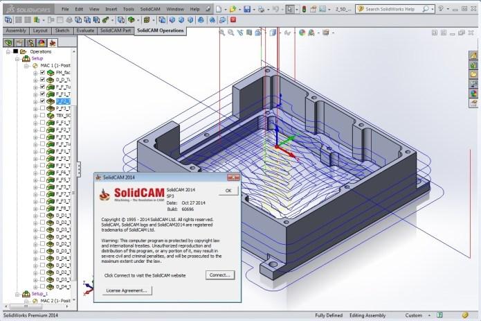Chiến lược chạy dao thông minh trong solidcam 2014 sp3