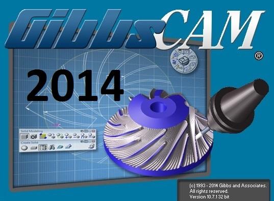 Bộ cài đặt phần mềm GibbsCAM 2014 32bit - 64bit full crack