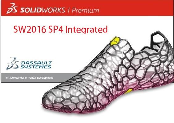 Phần mềm solidworks 2016 SP4 tích hợp
