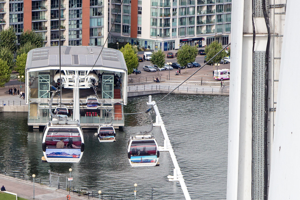 London Cable Car - The Emirates Air Line