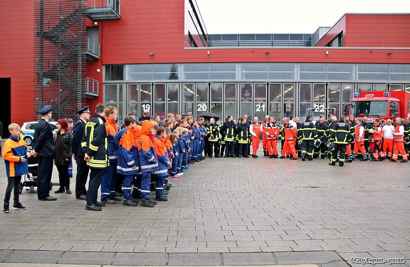 Feuerwehr Potsdam nimmt Abschied von einem Kameraden