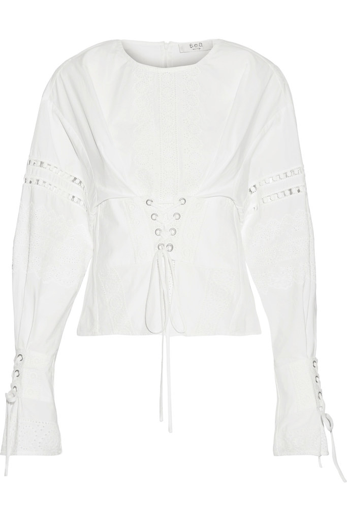 pick of the day-boho-style-white-shirt-lace-blogger-london