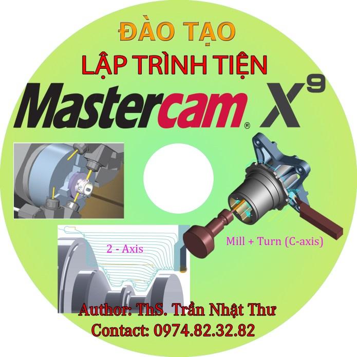 DVD lập trình tiện 2D-3D với MASTERCAM x9