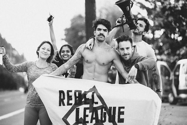 PARTE DEL EQUIPO DE REBEL LEAGUE